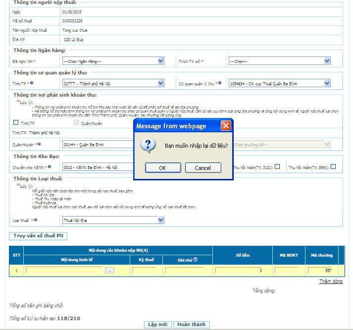 Hướng dẫn đăng ký và Nộp thuế điện tử (Phần 2)