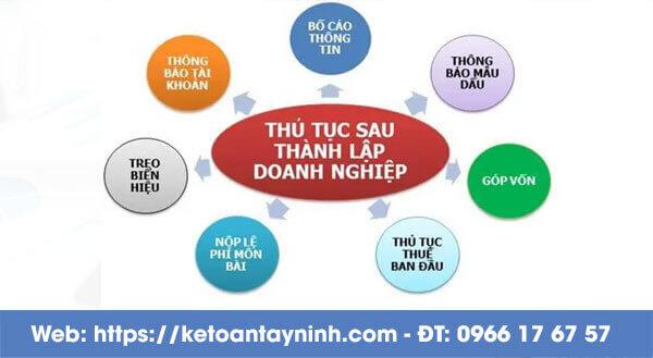 Dịch vụ thành lập doanh nghiệp tại tây Ninh